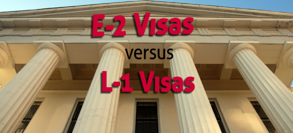 E-2 and L-1A VISA  FAQs